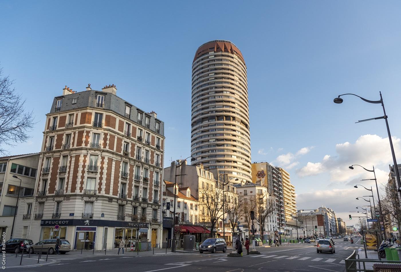 Maison-Blanche Paris XIIIe, seule gare parisienne du Grand Paris Express, prendra place au pied de l'emblématique Tour Super-Italie. Elle sera en correspondance la ligne 7 du métro.