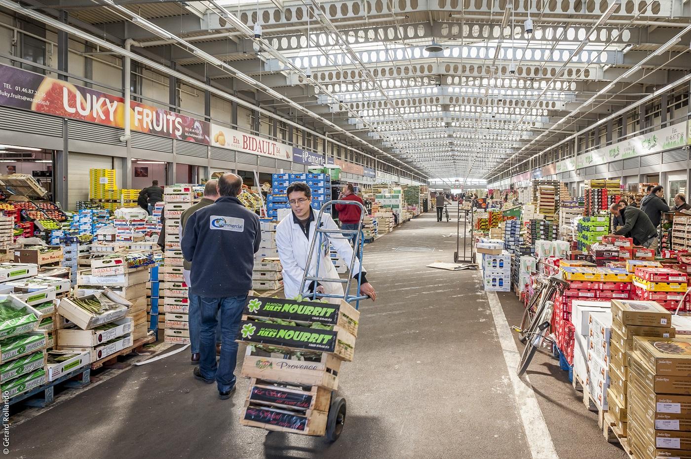 Le Marché d'Intérêt National de Rungis sera desservi pas la gare MI.N. Porte de Thiais.