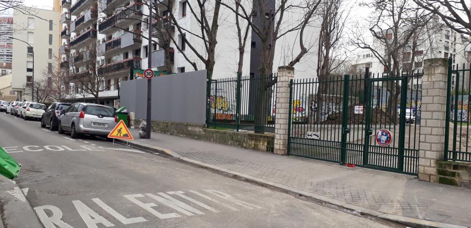 photo de la rue baudricourt