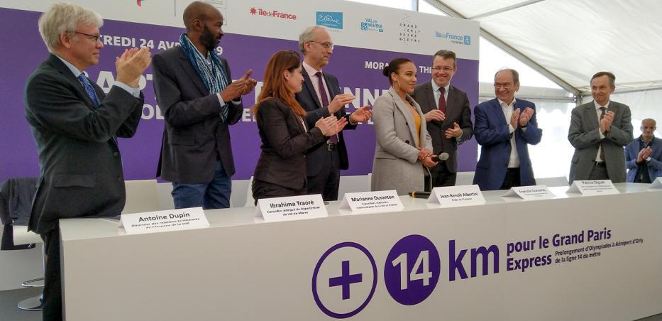 Photo des membres officiels de l'évènement