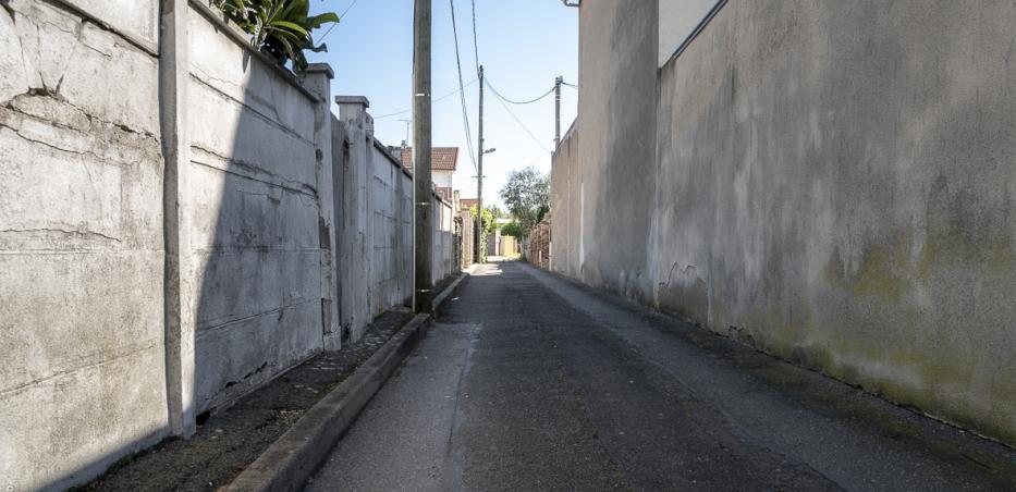 Photographie de l'impasse Marie Louise à Arcueil.