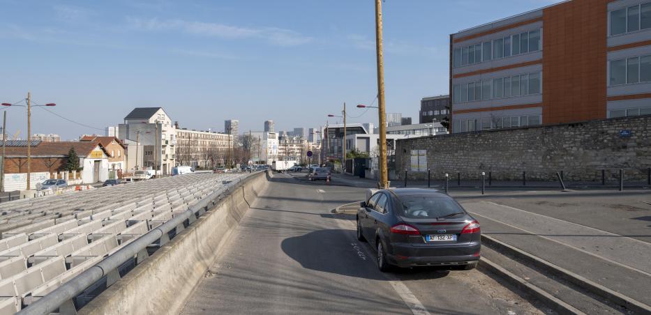 Quartier de la future gare Kremlin-Bicêtre Hôpital