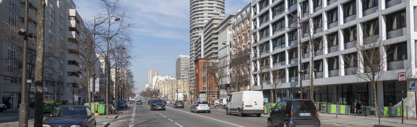 Photo de l'avenue d'Italie à Paris