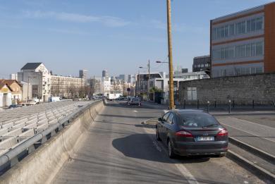 Photo du quartier de la future gare Kremlin-Bicêtre Hôpital